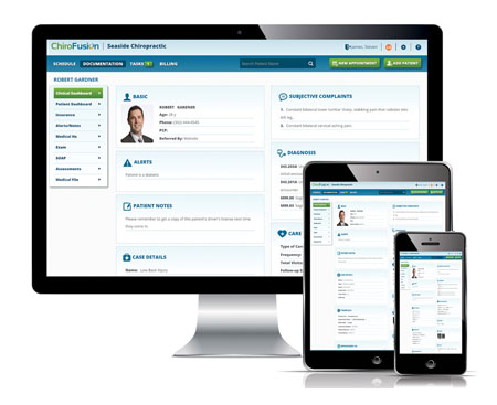 Chiropractic Software by ChiroFusion